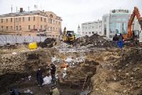 На Крестовоздвиженской площади Тулы обнаружено кладбище 18 века, Фото: 12