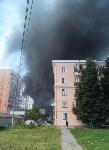 Загорелся недостроенный ТЦ на Красноармейском проспекте, Фото: 18