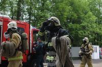 В Туле сотрудники МЧС эвакуировали госпитали госпиталь для больных коронавирусом, Фото: 42
