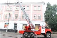 Пожар на проспекте Ленина, 30, Фото: 1