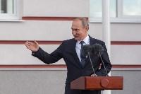 Путин в Суворовском училище, Фото: 31