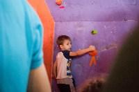 Соревнования на скалодроме среди детей, Фото: 4