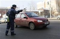 Полицейские поздравили автоледи с 8 Марта, Фото: 17