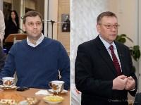 Глава администрации Алексина Павел Федоров, Председатель Тульской областной Думы Сергей Харитонов, Фото: 3