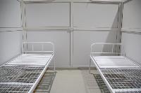 В Туле в манеже «Арсенала» завершается монтаж госпиталя для больных коронавирусом, Фото: 12