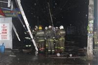 На ул. Оборонной в Туле сгорел магазин., Фото: 36