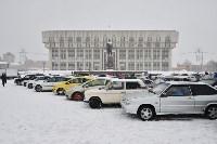 Автофлешмоб на площади Ленина в честь Дня памяти жертв ДТП, Фото: 4
