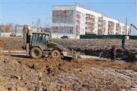 Закладка фундамента для пяти домов в Скуратово. 5.04.2014, Фото: 4