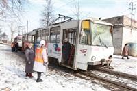 ДТП с участием двух трамваев. , Фото: 13