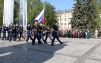 Возложение цветов к Вечному огню на площади Победы. 9 мая 2016 года, Фото: 4