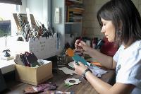 Тульская художница создает уникальные куклы из дерева, Фото: 2
