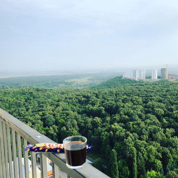 Кофе ☕️ на 23 этаже….