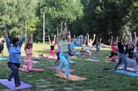 Йога в Центральном парке, Фото: 6