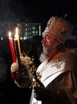 Пасхальная служба в Успенском соборе. 20.04.2014, Фото: 32