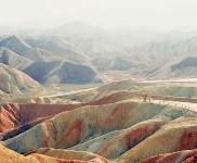 «Многогранные переживания» – финалист в категории циклов. Статуя в национальном геопарке Чжанъе Данься, расположенном в китайской провинции Ганьсу., Фото: 17
