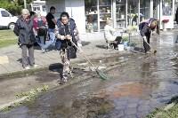 """На ул.9 Мая сгорел рынок """"Салют"""", Фото: 20"""