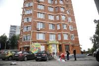 Женщина выпала из окна 11-го этажа на ул. Макаренко в Туле, Фото: 7