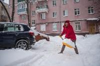 Снегопад в Туле. 19 января 2016 года, Фото: 16