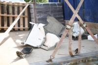В Барсуках фура влетела в огород и сломала дерево, Фото: 18