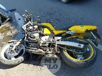 ДТП с мотоциклистом на ул. Дм.Ульянова 25.06.19, Фото: 4