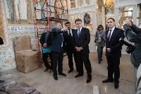 Груздев инспектирует работы в Тульском кремле. 8.09.2015, Фото: 14