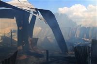 Пожар на хлебоприемном предприятии в Плавске., Фото: 26