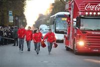 Третий этап эстафеты олимпийского огня: проспект Ленина, Фото: 42