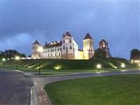 Мирский замок ночью, Фото: 9
