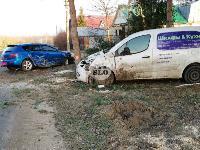 В Туле Mazda-3 сбила рябину и влетела в припаркованный Peugeot , Фото: 5
