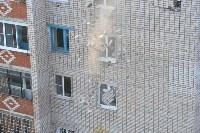 У дома, поврежденного взрывом в Ясногорске, демонтировали опасный угол стены, Фото: 53