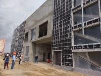 строительство ледовой арены в Туле, Фото: 4