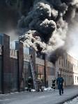 Загорелся недостроенный ТЦ на Красноармейском проспекте, Фото: 41