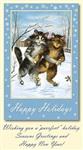 Старинные рождественские открытки, Фото: 12