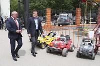 В Ясногорске Алексей Дюмин поручил привести в порядок городской парк, Фото: 9