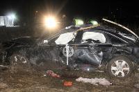 В жутком ДТП в поселке Рассвет погиб пассажир Audi A6, Фото: 4