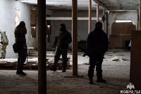 Учения: В Тульской области СОБР и ОМОН обезвредили вооруженных преступников, Фото: 12
