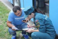 МЧС встречает беженцев в Домодедово. 9.07.2014, Фото: 4