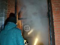 В Туле пожарные вынесли из горящего особняка больную женщину, Фото: 6