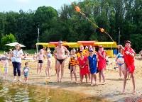МЧС обучает детей спасать людей на воде, Фото: 16