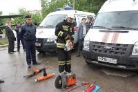 Тульские спасатели провели урок для юнармейцев, Фото: 16
