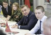 Алексей Дюмин встретился с представителями тульского поискового движения, Фото: 6