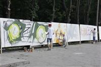 Молодые туляки попытали свои силы на конкурсе граффити, Фото: 4