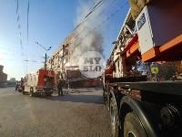 Пожар в пиццерии на Красноармейском, Фото: 7