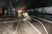 На ул. Оборонной в Туле сгорел магазин., Фото: 5