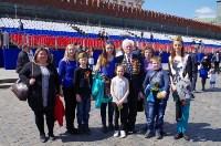 Тульская делегация побывала на генеральной репетиции парада Победы в Москве, Фото: 25