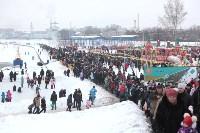 Как туляки провожали зиму на набережной Упы, Фото: 141