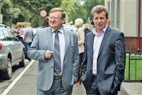 Адвокаты Дудки Владимир Жеребенков и Игорь Коротков перед заседанием были настроены оптимистично., Фото: 9