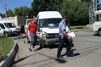 ДТП на пересечении Маргелова и проспекта Ленина, Фото: 1