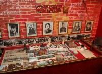 Учащиеся Волхонщинской средней школы показали Алексею Дюмину школьный музей боевой славы, Фото: 12