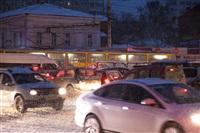 Утренние пробки в Туле, Фото: 1